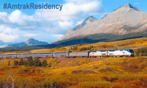 Amtrak's writing residency program wants to restore some of the glamor and adventure of train travel