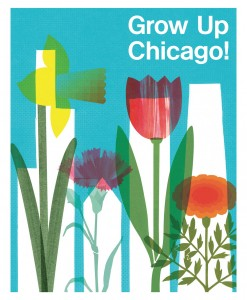 Winning poster for City in a Garden competition