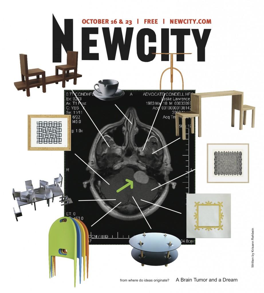 Newcity cover designed by Larry Laske