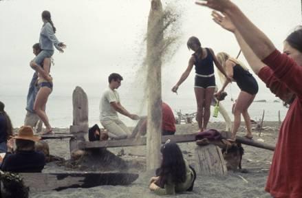 The Halprins hosted freewheeling, interdisciplinary gatherings at their West Coast homes