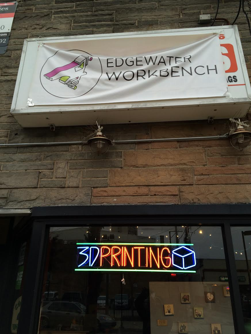3d printing, along with a host of analog tech, is available at the Edgewater maker space