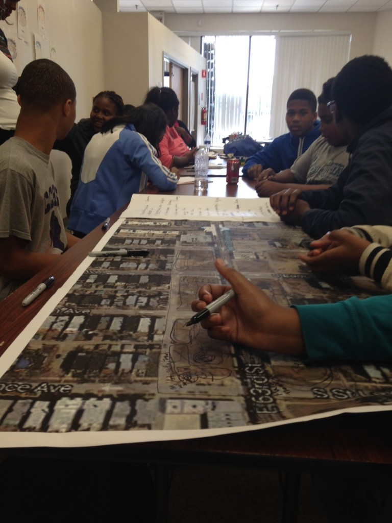 Students participate in the design of their community