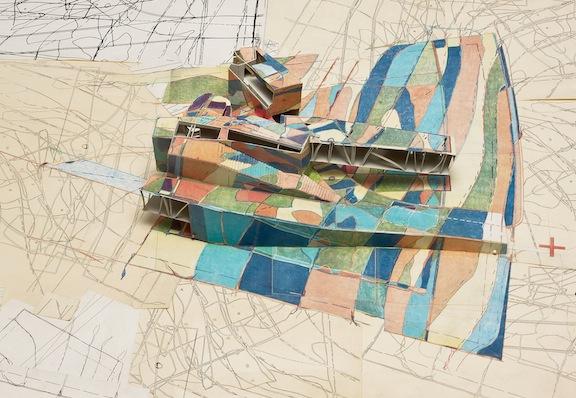 "Douglas Garofalo and David Leary, ""Camouflage House,"" 1991"