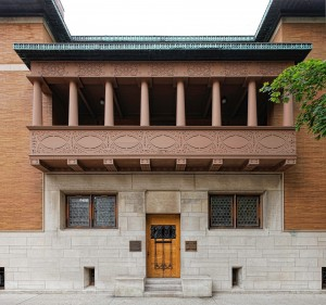 Louis Sullivan's landmark Charnley-Persky House. Photo: James Caulfield