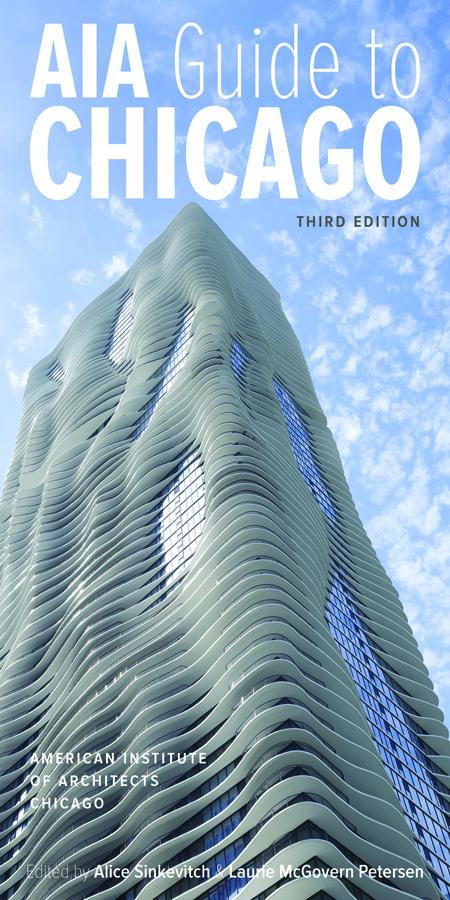 Studio Gang's Aqua tower graces the cover of the updated architectural guide