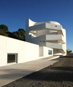 The 2008 Ibere Camargo Foundation is among Siza's best-known works. Photo courtesy of Alvaro Siza Vieira.