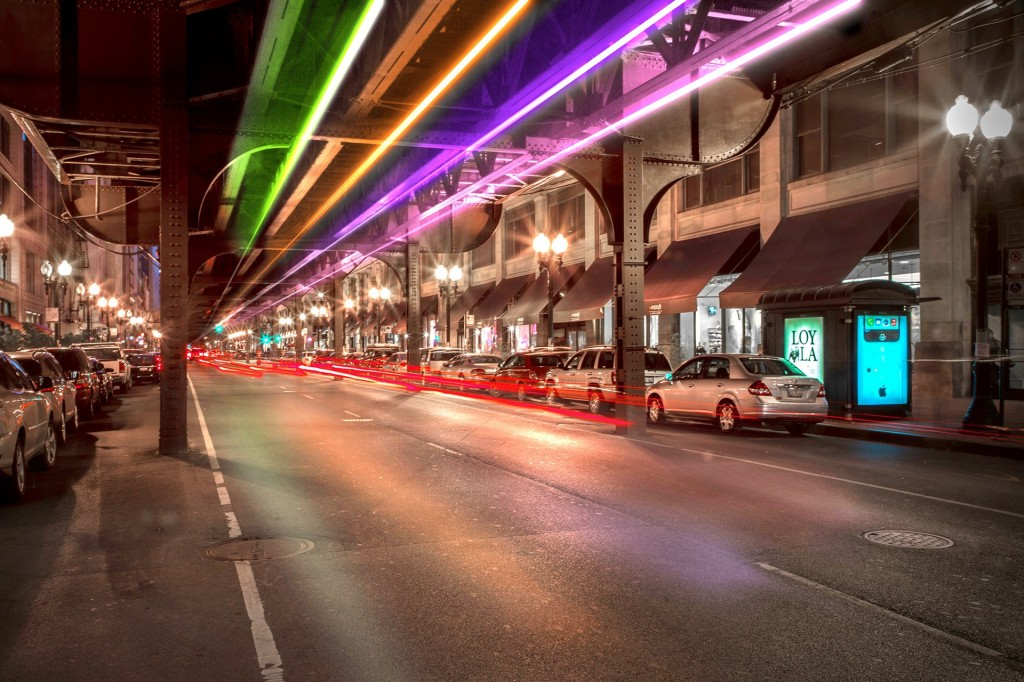 Image: Wabash Lights project