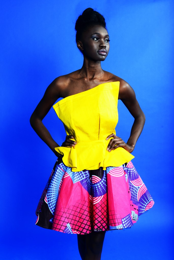 Top by 828 collection; skirt by ZurkGirl/Photo: Law Agyei