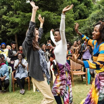 Heshima in Action: How RefuSHE Empowers African Girls and Young Women One Hand-Dyed Scarf at a Time