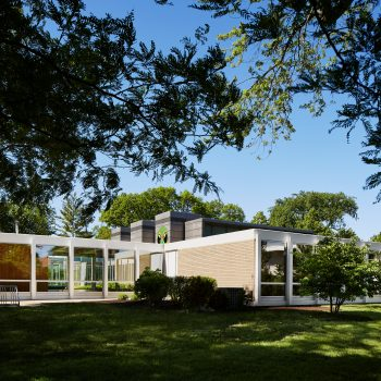 Suburban Modernism: Behind the Restoration of Mies' McCormick House