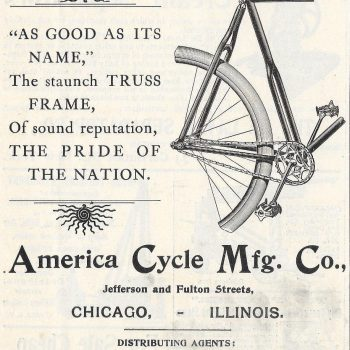 Bicycling By Design: Looking at Chicago's History as a Center of Two-Wheeled Transportation
