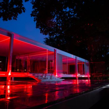 Lines, Lasers and Lost Landscapes: Geometry of Light at the Farnsworth House
