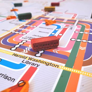 All Aboard! Take a Ride on an El-Inspired Board Game